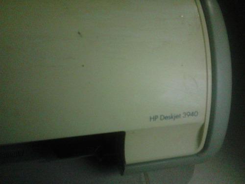 impresora deskjet hp  modelo 3940 para repuesto