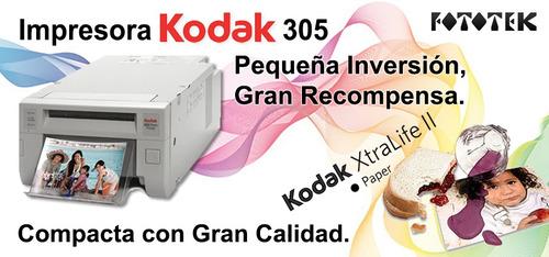 impresora digital kodak 305
