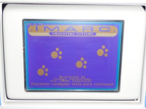 impresora digital para placas de mascotas