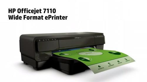 impresora doble carta de tinta a color hp officejet 7110