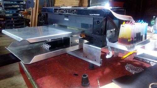 impresora dtg conversión cama plana epson 1430 l1800 y otros