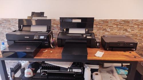 impresora epson dtf a3 nuevas .. modificación... insumos..1