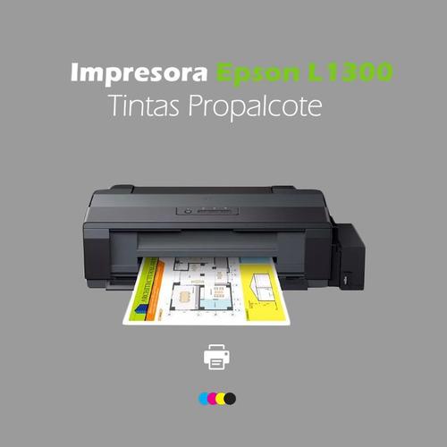 impresora epson l1300 tintas propalcote