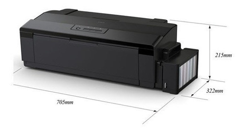 impresora epson l1800 a3 sistema continuo ecotank - cuotas
