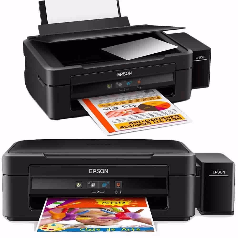 Impresora Epson L220 L380 Multifuncion Sistema Continuo