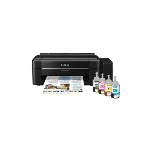 impresora epson l310 ecotank tinta continua + kit de tintas