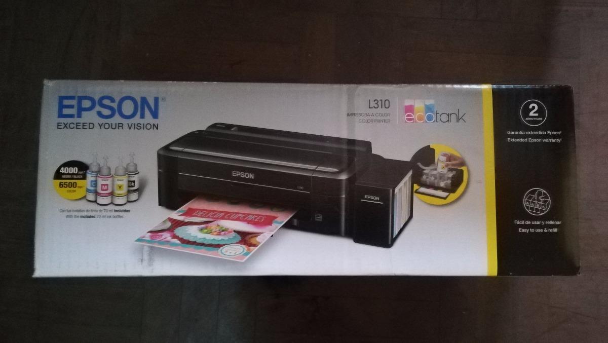 Impresora Epson L310 Sistema Continuo De Fabrica Original S 560 Printer Cargando Zoom