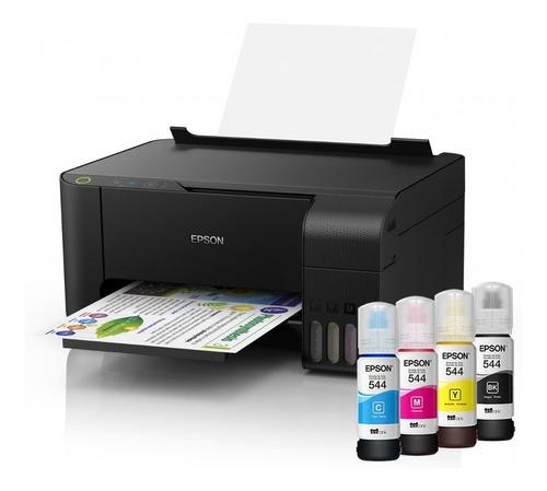 impresora epson l3110 sistema continuo multifunción + tintas