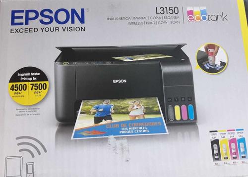impresora epson l3150 ecotank wifi