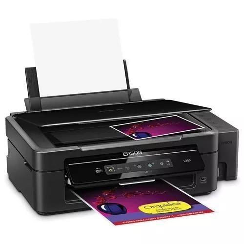 impresora epson l355 sistema continuo wifi  como nueva