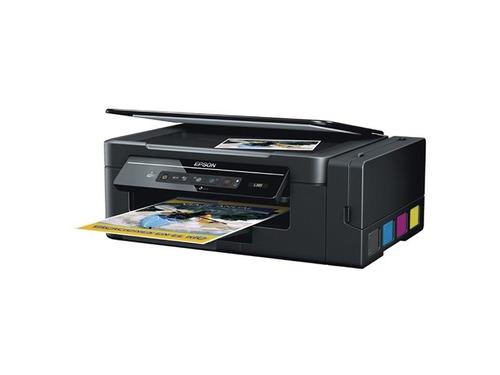 impresora epson l395 ecotank multifunción wifi  disershop
