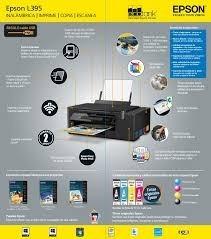 impresora epson l395  escanea imprime fotocopia sin parar!!!