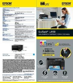 impresora epson l4150 original tinta continua wifi,