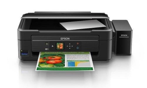impresora epson l455 multifunción sistema continuo ecotank