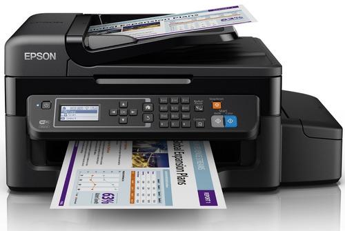 impresora epson l575 multifuncion wifi tinta continua envio