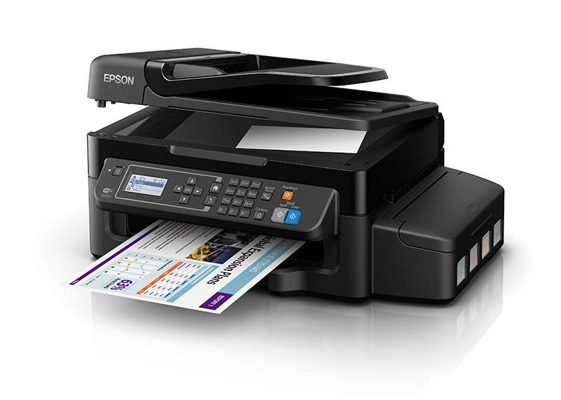 Impresora epson l575 tinta continua imprime copia escanea for La oficina caracteristicas