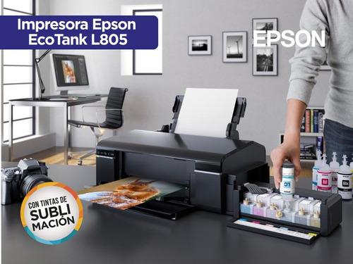 impresora epson l805 con sistema + t sublimación