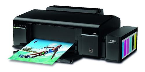 impresora epson l805 ecotanck impresion sobre cd-dvd