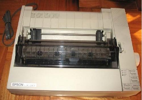 impresora epson lx 810 ap2000 facturacion hectografico