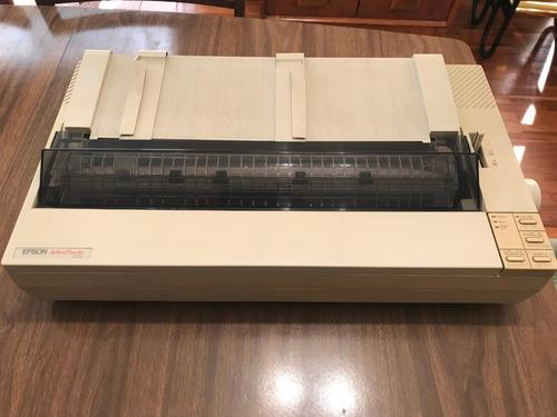 impresora epson, matriz de punto, carro largo, 9 pin
