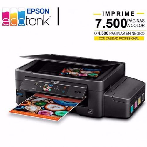 Impresora Epson Multifuncion Ecotank-l475