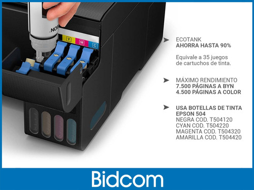 impresora epson multifuncion l3150 wifi sistema continuo