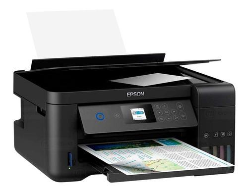 impresora epson sistema continuo wifi multifuncion oficina