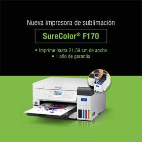Impresora Epson Sublimación F170 A4