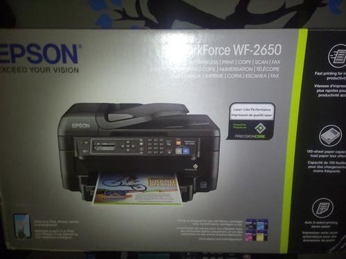 impresora epson wf 2650 con sistema de tinta