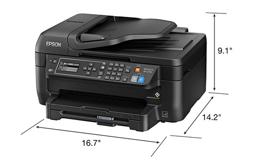 impresora epson wf 2750 wifi  duplex
