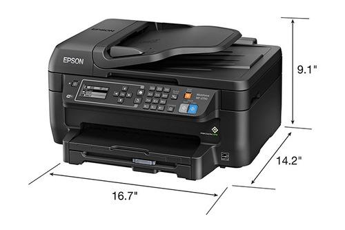 impresora epson wf 2750 wifi  duplex sistema adaptado