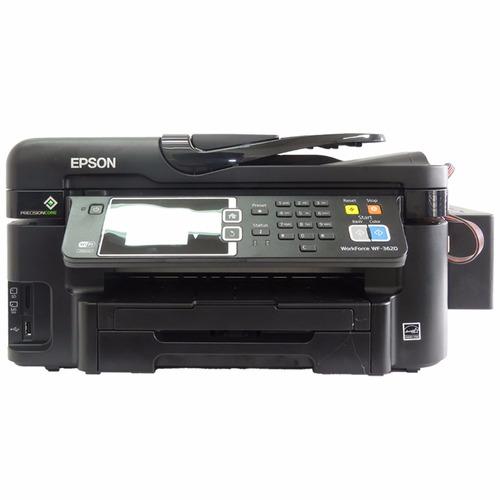 impresora epson wf 3620 + sistema de tinta continuo