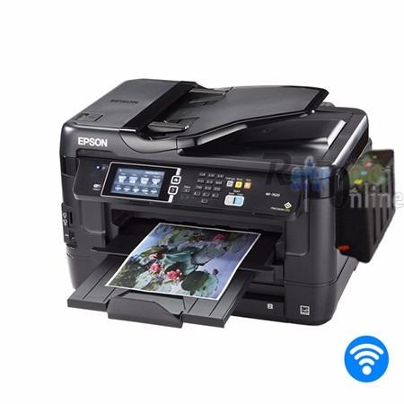 impresora epson wf 7620 sistema tinta instalado sublimacion