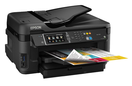 impresora epson wf 7620 - tabloide a3, oficio, wifi, escaner