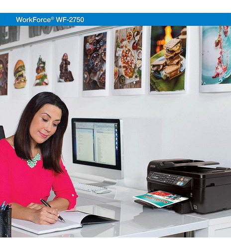 impresora epson wf2860 duplex  wifi mejor l3110 l3150 l4150