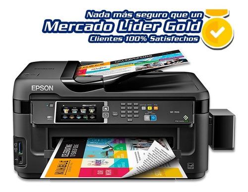 impresora epson wf7610 a3 con sistema de tinta continua