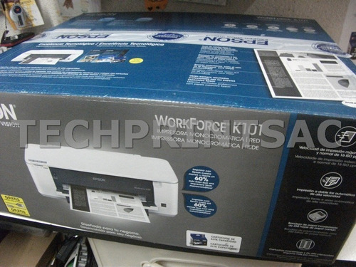 impresora epson workforce k101 con cartuchos recargables