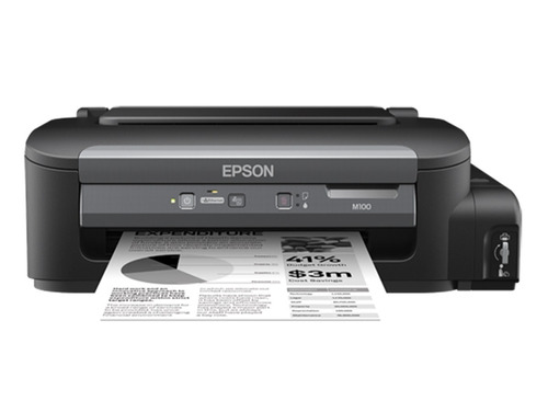impresora epson workforce m100 sintema conti. monocromatica
