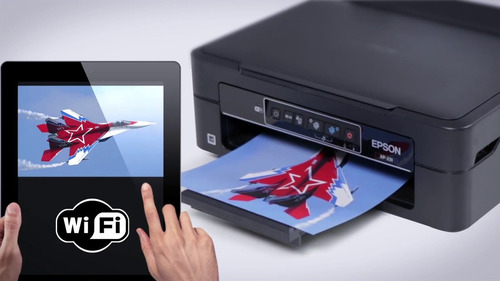 impresora epson xp-231 con sistema continuo sin chip, wifi