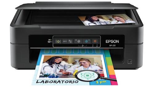 impresora epson xp-231 expression multifuncional wifi