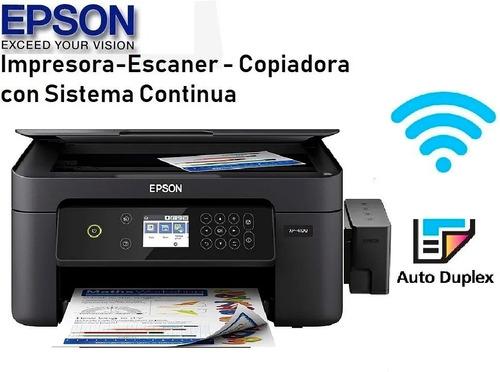 impresora epson xp 4100 duplex wifi mejor que l3110 l3150