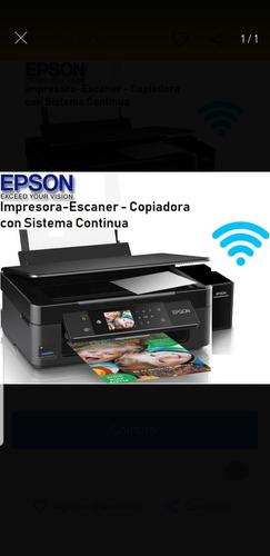 impresora epson xp440 wifi sistema de tinta multifunción