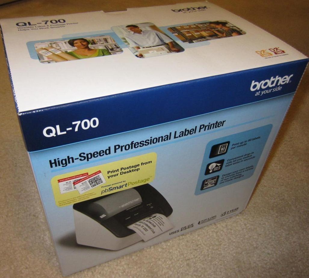 Nueva Brother Ql700 Impresora Termica Etiqueta Codigo