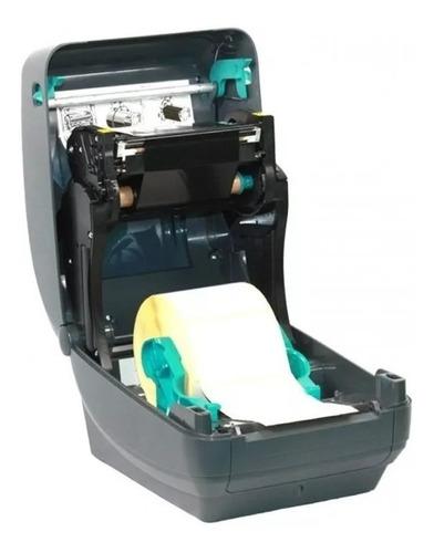 impresora etiquetas zebra gk420t usb red lan c/soft