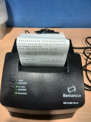 impresora fiscal bematech mp-2100 th fi