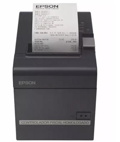 impresora fiscal  térmica epson tm t900 fa nueva generación