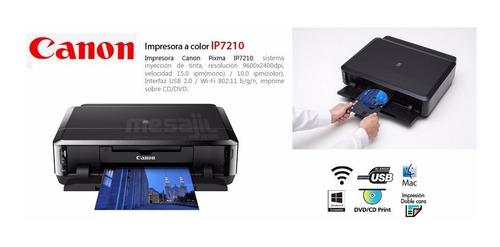impresora fotografica canon pixma ip7210 1 mes de uso