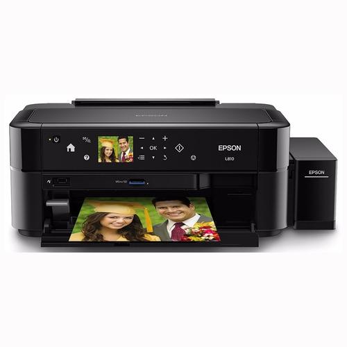 Impresora Fotográfica Ecotank L810 Lcd Cd/dvd Docs Epson