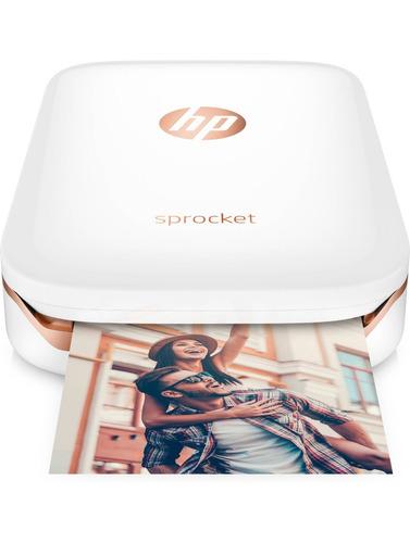 impresora fotográfica hp sprocket bluetooth portatil zink