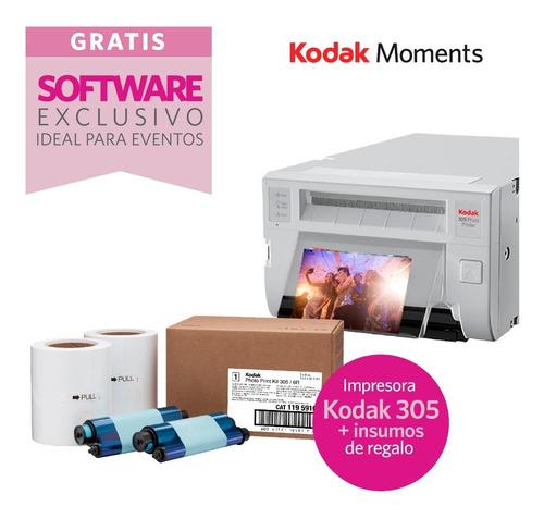 impresora fotografica kodak 305 + 640 copias sin cargo